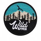 Термоаппликация TBY-2213 Wild&Free 7*7 см