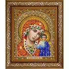 Рисунок для вышивания бисером Благовест И-4094 Казанская ПБ 20*25 см
