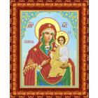 Рисунок для вышивания бисером Каролинка КБИ-4104 «Б.М.Тихвинская» 19*25 см