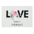 Термотрансфер ALP-012 «LOVE» 5*10 см 7729052