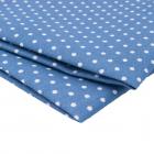 Ткань 50*50 см AR 1012 мелкий рис. 397-08 синий 7728249