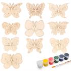 Набор  Astra&Craft для раскрашивания деревянных заготовок «Бабочки» 558788