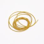 Проволока декоративная (канитель) д.1,0 мм (уп. 5 гр) жесткая (EMB-1442 темное золото)