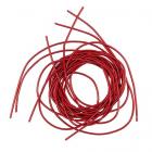 Проволока декоративная (канитель) д.1,0 мм (уп. 5 гр) мягкая (EMB2073 красный с блеском)