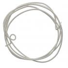 Проволока декоративная (трунцал) д.1,2 мм КЖ002НН12 жесткая   серебро