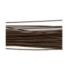 Проволока флорист. 60 см Астра  3,00 мм (уп. 10 шт.) коричневый