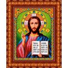 Рисунок для вышивания бисером Каролинка КБИ-4024/1 «Господь Вседержитель» 18,5*24,5 см