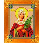 Рисунок для вышивания бисером Каролинка КБИ-4048 «Св мучиница Титиана» А4