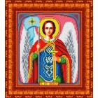 Рисунок для вышивания бисером Каролинка КБИ-4071 «Св Архангел Михаил» А4