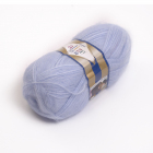 Пряжа Ангора реал 40 (Angora Real 40), 100 г / 480 м, 051 голубой
