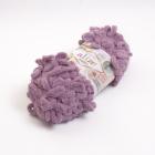 Пряжа Пуффи (Puffy), 100 г / 9.2 м  028 розово-сиреневый