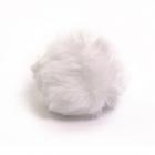 Помпон искусств. 8 см (кролик) белоснежный 7723350 (уп 2 шт)