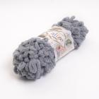 Пряжа Пуффи (Puffy), 100 г / 9.2 м  428 серый