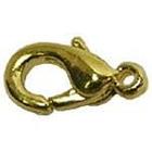 Застежка для бус Zlatka DS-01  «карабин» золото