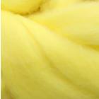 Шерсть для валяния тонкая мериносовая 100% (уп. 100 г) 1340 лимонный