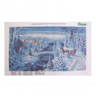 Рисунок на ткани «Конек 1263 Зимняя прогулка» 25*45 см