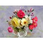 Набор для раскрашивания Molly KH0643 Бузин. «Розы в кувшинчике» 40*50 см