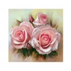 Набор для раскрашивания Molly KH0695  «Розовое трио» 30*30 см
