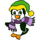 Набор для вышивания Нитекс 2064 «Пингвиненок»  22*22см