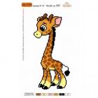 Набор для вышивания Нитекс 2128 «Жирафик» 22*32 см