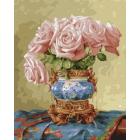 Набор для раскрашивания Molly KH0668 Бузин. «Восточные розы» 40*50 см
