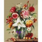 Набор для раскрашивания Molly KH0678 Бузин. «Цветы и фрукты» 40*50 см