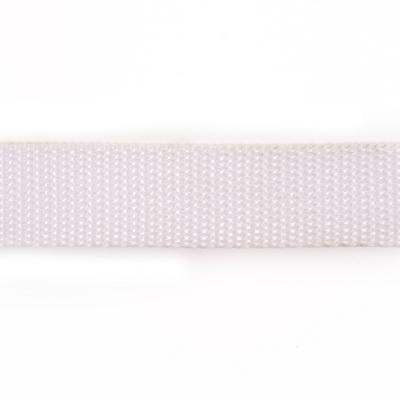Ременная лента Китай 25 мм (рул. 100 м) белый в интернет-магазине Швейпрофи.рф