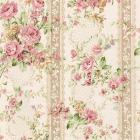 Ткань 60*110 см декоративная  PEPPY SRK-6723-97 ROSE розовый/крем