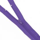 Молния Т4 спираль брючн. п/авт. 20 см 170 фиолетовый