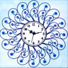 Алмазная мозаика «Часы 60*60 NS-08 Мороз»