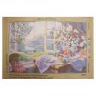 Рисунок на канве Royal Paris «На даче»  49*74 см 345121
