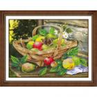Набор для вышивания бисером Паутинка Б-1266 «Яблочки» 38*28 см