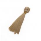 Волосы для кукол (трессы) Элит В-50 см L-15 см TBY66892 русый