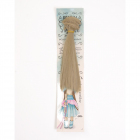 Волосы для кукол (трессы) Прямые 2294881 длина 15 см ширина 100 см св. русый