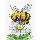 Набор для вышивания М.П.Студия М-230 «Трудолюбивая пчелка» 16*12 см