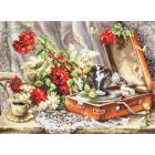 Набор для вышивания Чудесная Игла №67-04 «Ностальгия» 46*34 см