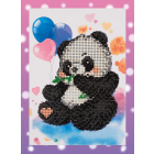 Алмазная мозаика Фрея ALVS-036 «Панда» 14*19.5 см