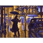 Рисунок на канве МП (28*37 см) 1469-1 «Танец под дождем»