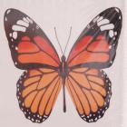 Алмазная мозаика DIY (с рамкой) LM-K20137 «Рыжая Бабочка» 20*20 см