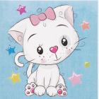 Набор для раскрашивания Molly KH0455  «Милая кошечка» 20*20 см