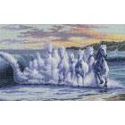 Набор для вышивания Classic Design 4356 «Бегущие по волнам» 41*25 см