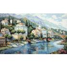 Набор для вышивания Classic Design 4408 «Итальянский пейзаж» 46*29 см