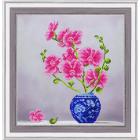 Набор для вышивания бисером Славяночка НК-3106 «Нежные орхидеи» 29*29 см
