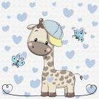 Набор для раскрашивания Molly KH0450  «Маленький Жираф» 20*20 см