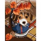 Набор для раскрашивания Molly KH0795 «Озорной щенок» 15*20 см