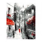 Набор для раскрашивания Molly KH0820 «Улочка старого города» 15*20 см