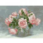 Набор для раскрашивания Molly KK0661  «Розовая симфония» Бузин 30*40 см