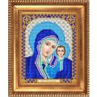 Рисунок для вышивания бисером Благовест И-5045 Б.Матерь Казанская 13,5*17см