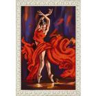Рисунок для вышивания бисером Благовест К-3099 Танец страсти 25*38 см
