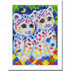 Рисунок на ткани «Славяночка КС-4006  Сказочные коты» 20*25 см